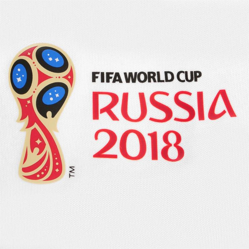 Tričko FIFA World Cup Russia 2018 Argentina Graphic T Shirt Mens White