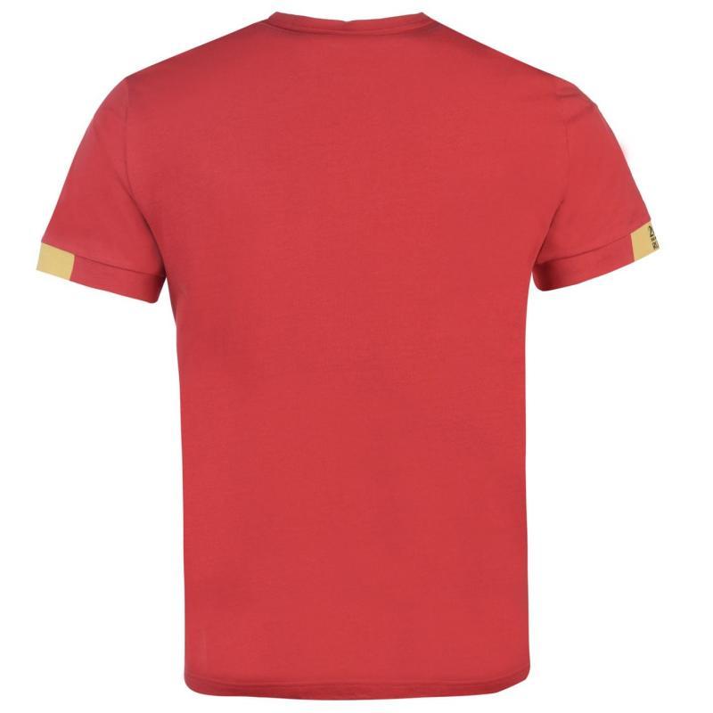 Tričko FIFA World Cup Russia 2018 Core T Shirt Mens Red