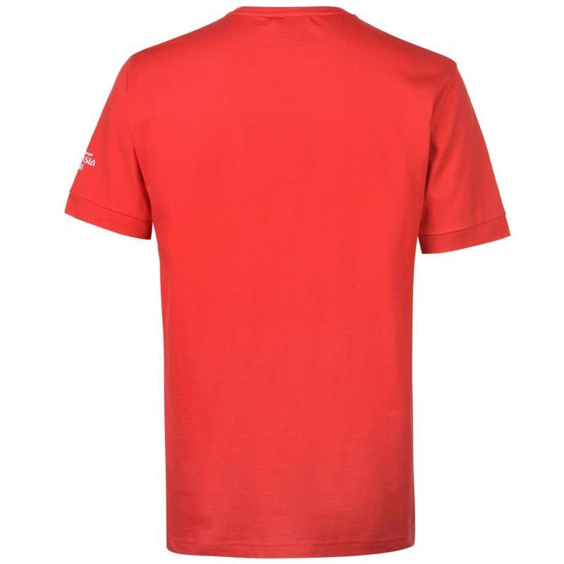 Tričko FIFA World Cup Russia 2018 Portugal Graphic T Shirt Mens Red