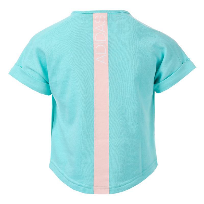 Adidas Performance Infant Girls Frozen Elsa T-Shirt Mint