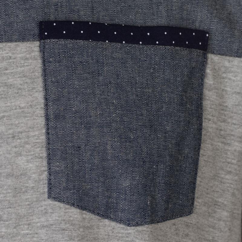 Pierre Cardin Chest Panel Polo Shirt Mens Burgundy