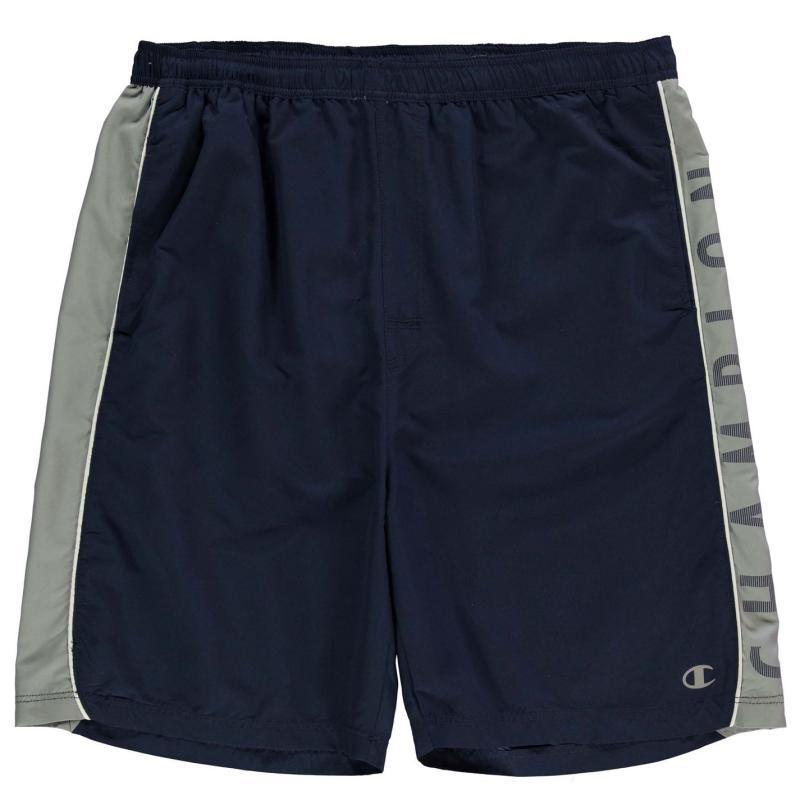 Plavky Champion Side Print Shorts Mens Navy