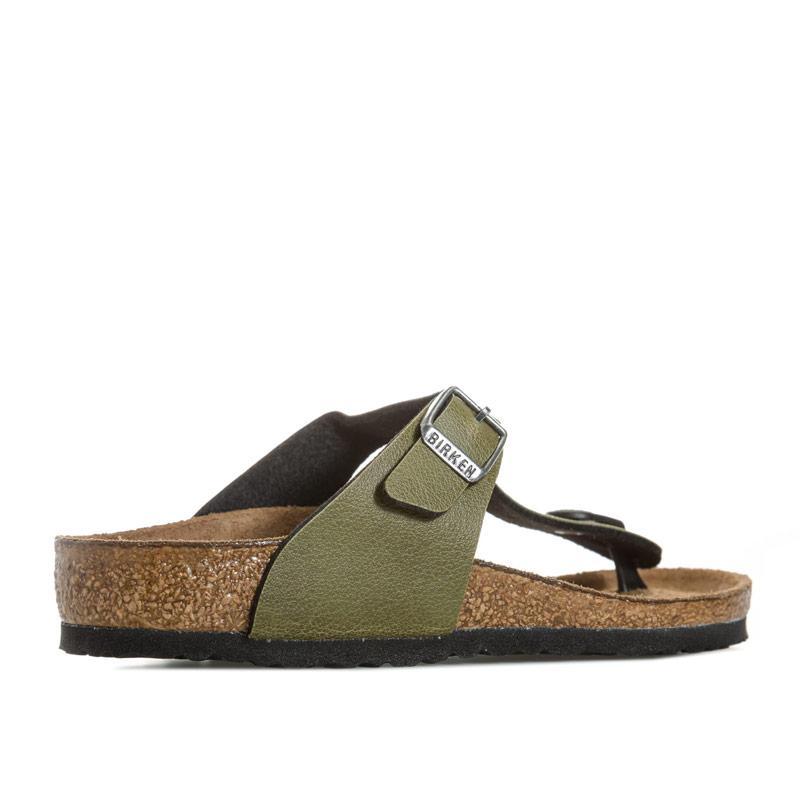 Boty Birkenstock Children Gizeh Narrow Width Sandals Brown