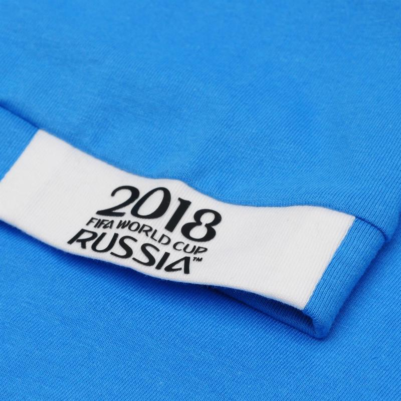 Tričko FIFA World Cup Russia 2018 Argentina Core T Shirt Mens Blue