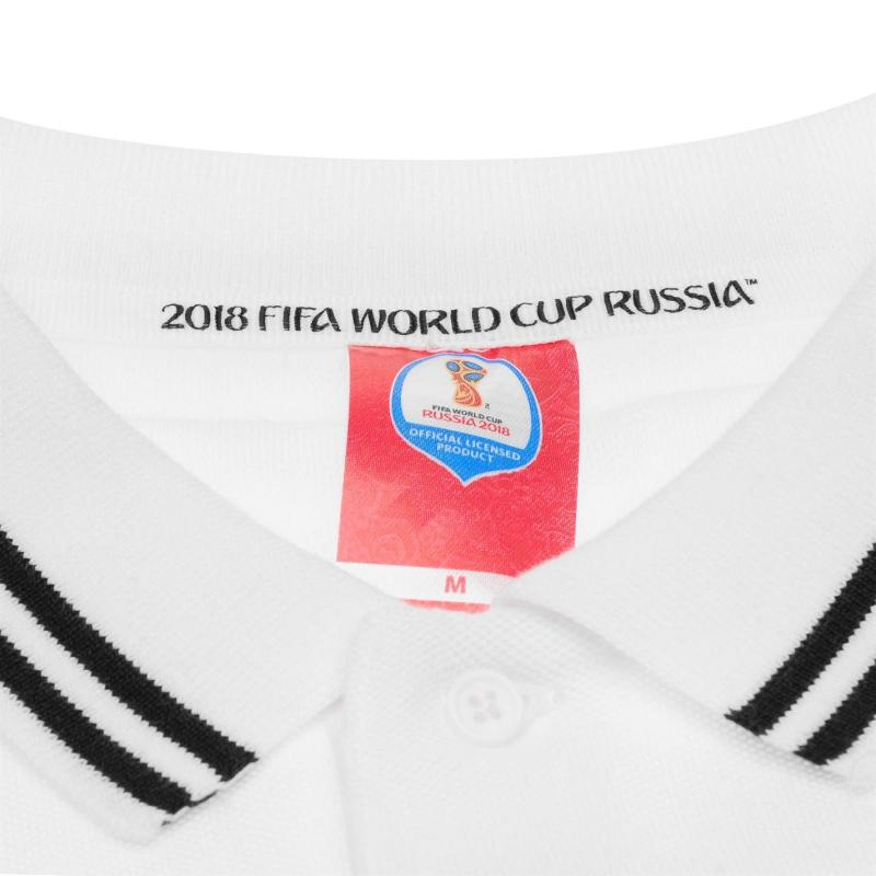 FIFA World Cup Russia 2018 Germany Polo Mens White