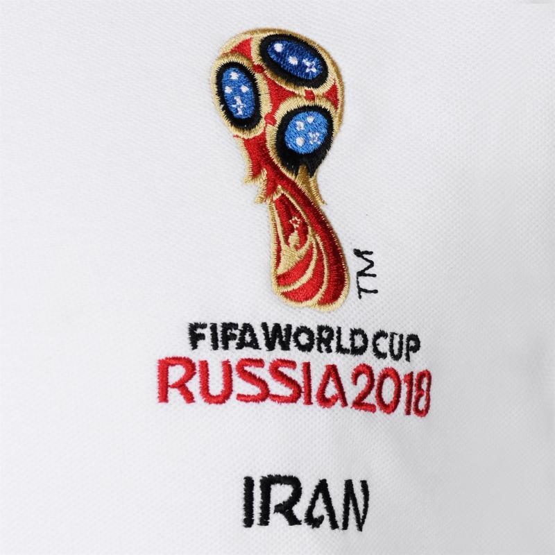 FIFA World Cup Russia 2018 Iran Polo Mens White