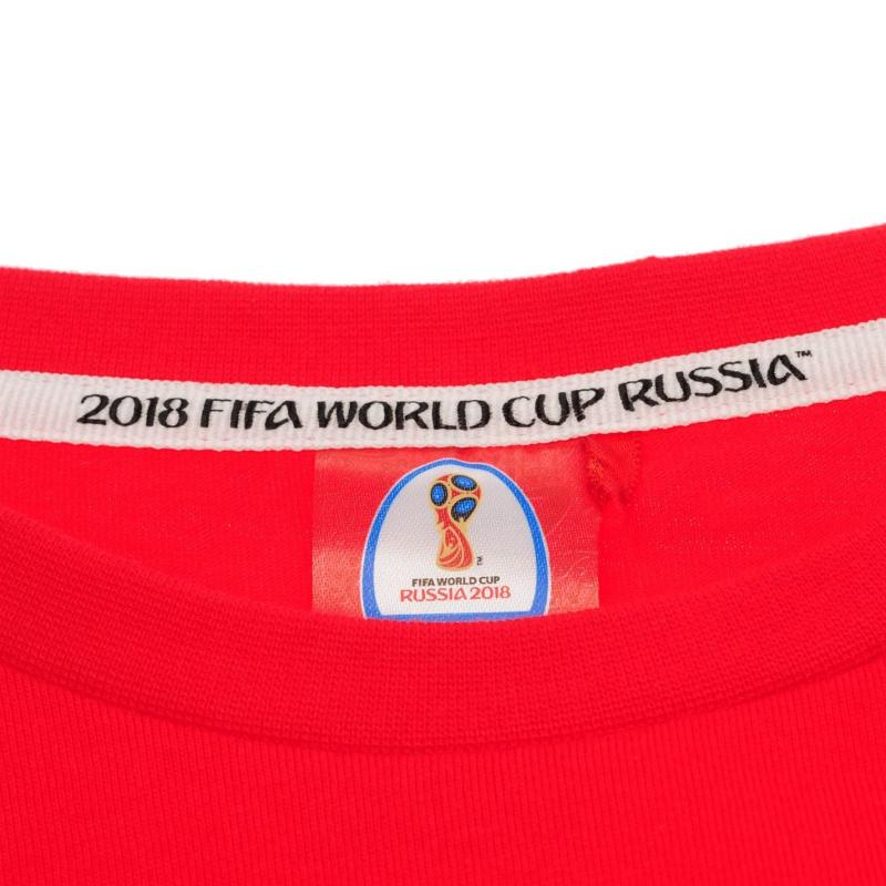 FIFA World Cup Russia 2018 Portugal Core T Shirt Ladies Red