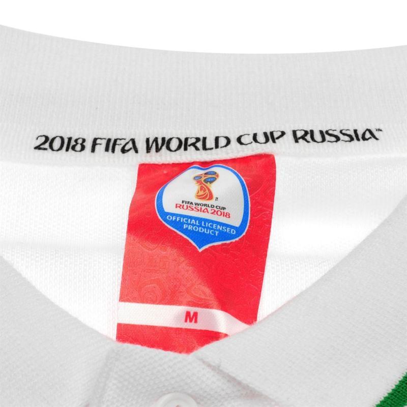FIFA World Cup Russia 2018 Portugal Polo Mens White