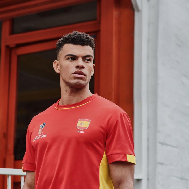 Tričko FIFA World Cup Russia 2018 Spain Core T Shirt Mens Red