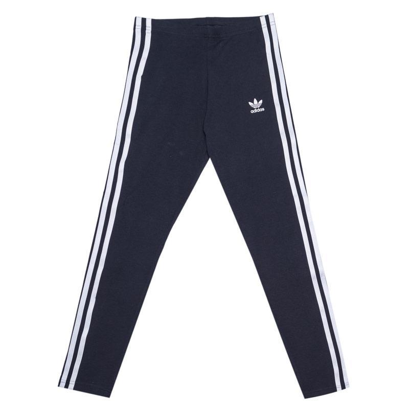 Adidas Originals Infant Girls Leggings Navy