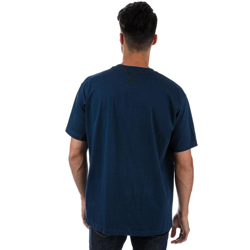 43170b7489e5 Tričko Adidas Originals Mens XBYO SS T-Shirt Blue