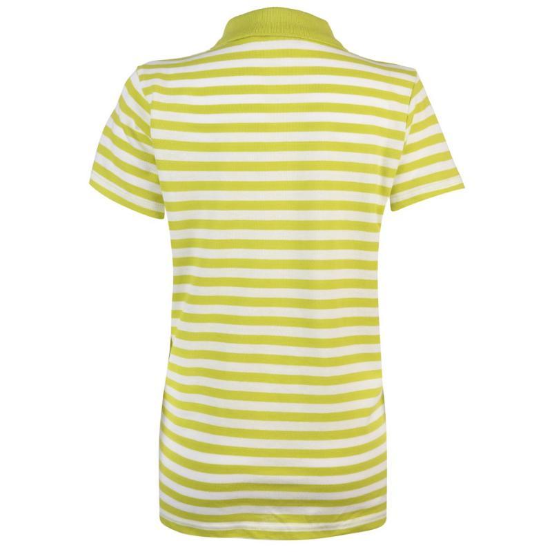 Polokošile Miso Stripe Polo Shirt Ladies Blue