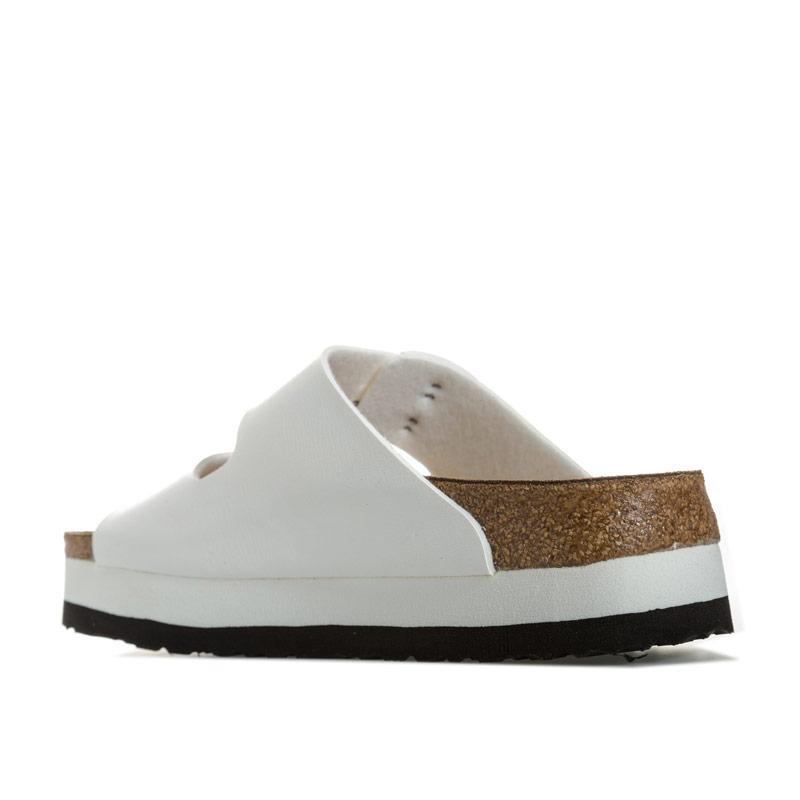 Boty Papillio Womens Arizona Plateau Sandals Narrow Width White