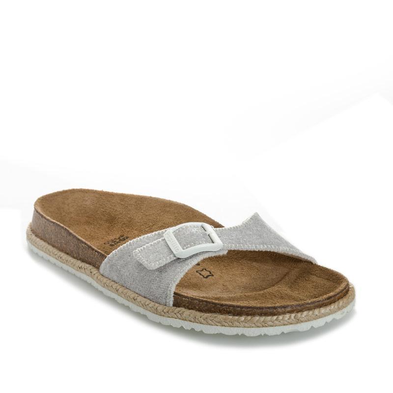 Boty Papillio Womens Madrid Sandals Narrow Width Light Grey