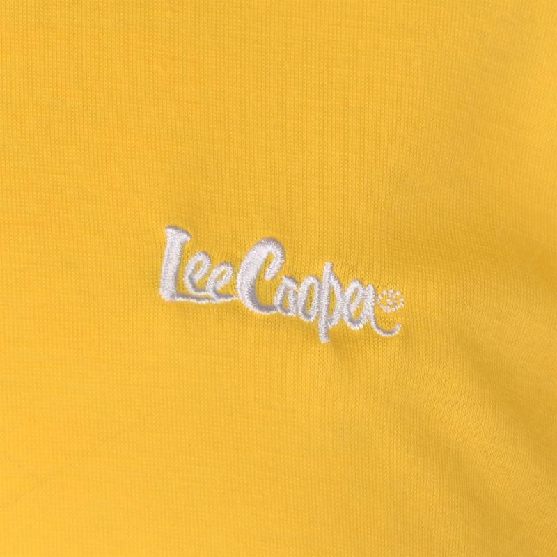 Tričko Lee Cooper Basic T Shirt Mens Yellow