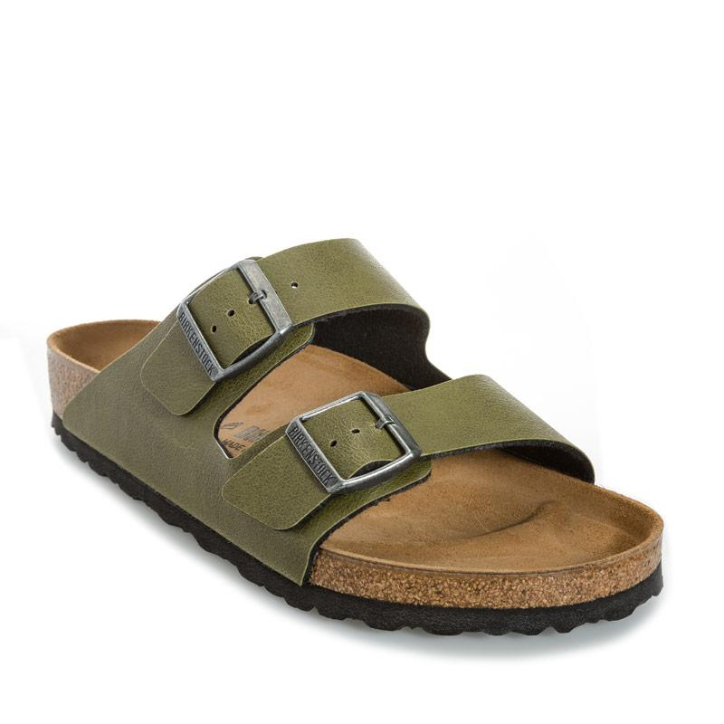 Birkenstock Mens Arizona Regular Width Sandals olive