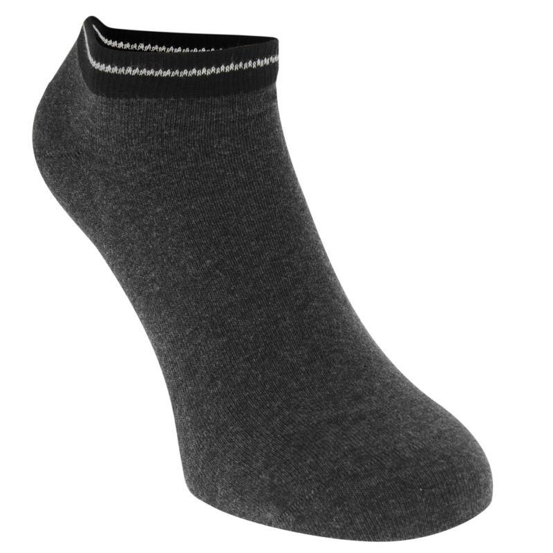 Ponožky Tommy Hilfiger Trainer Socks 2 Pack Black