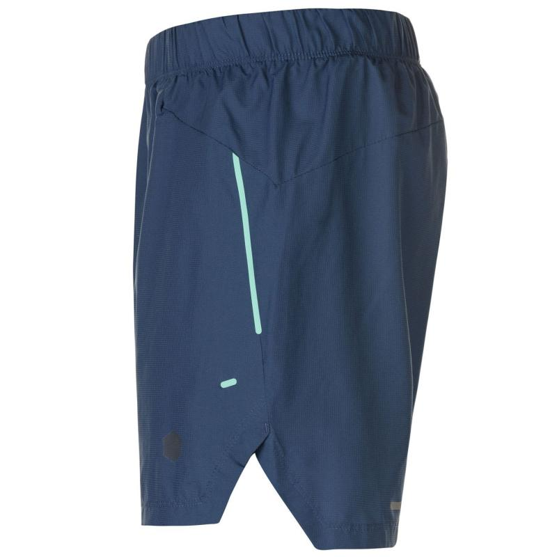 Asics Cool 2in1 Shorts Mens Dark Blue
