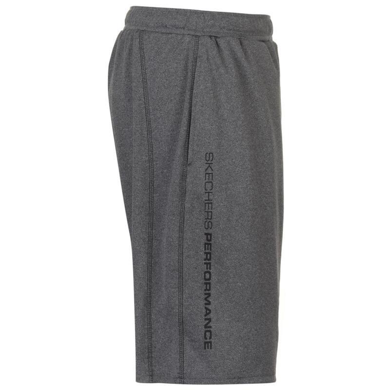 Skechers Break Point Shorts Mens Charcoal