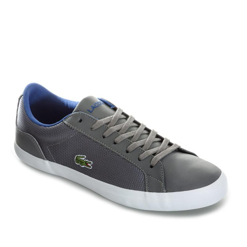 Lacoste Mens Lerond 116 1 SPM Trainers Grey