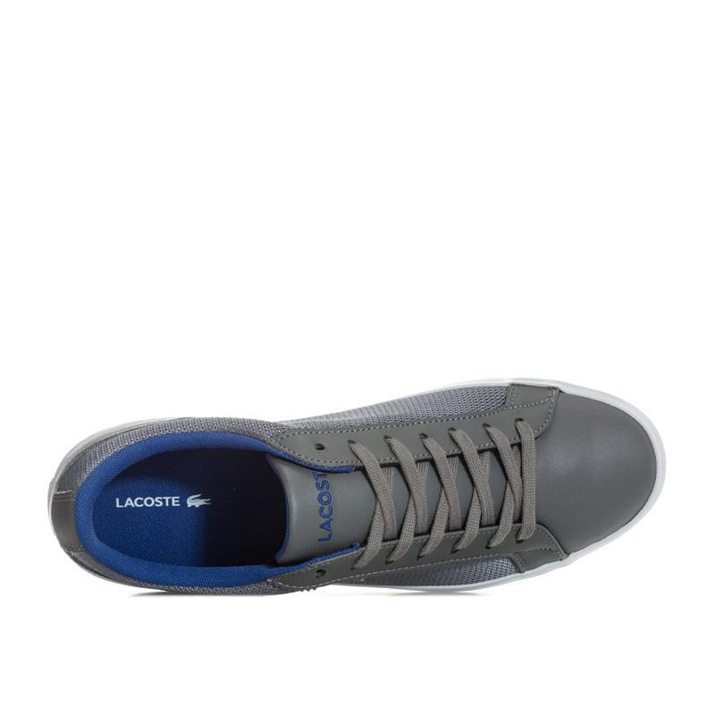 Lacoste Mens Lerond 116 1 SPM Trainers Grey Velikost - UK7 (euro 41)