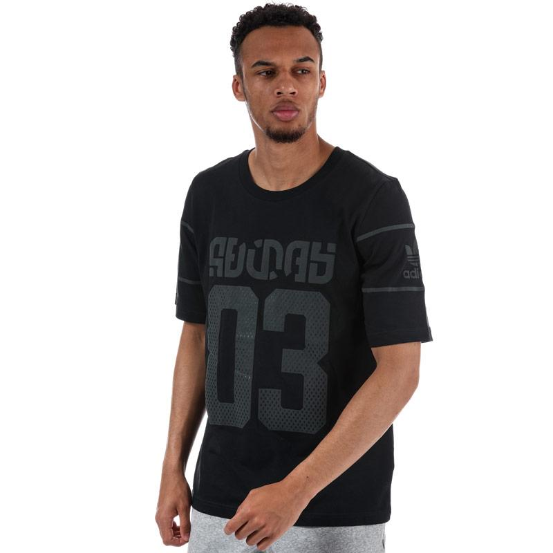 Tričko Adidas Originals Mens Winter D T-Shirt Black