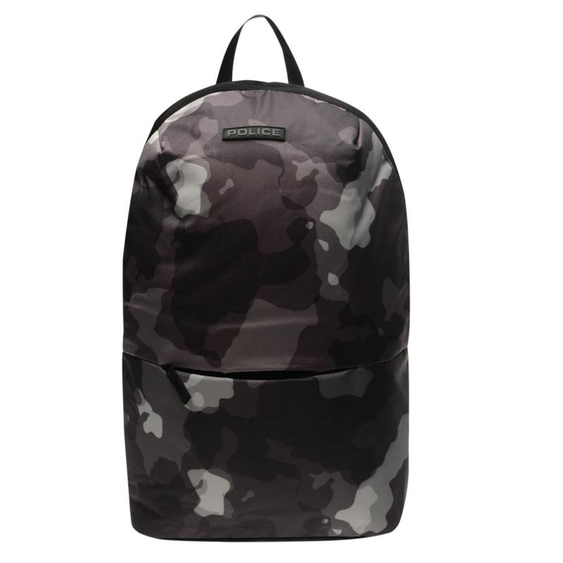 Police Camouflage Backpack Army Green