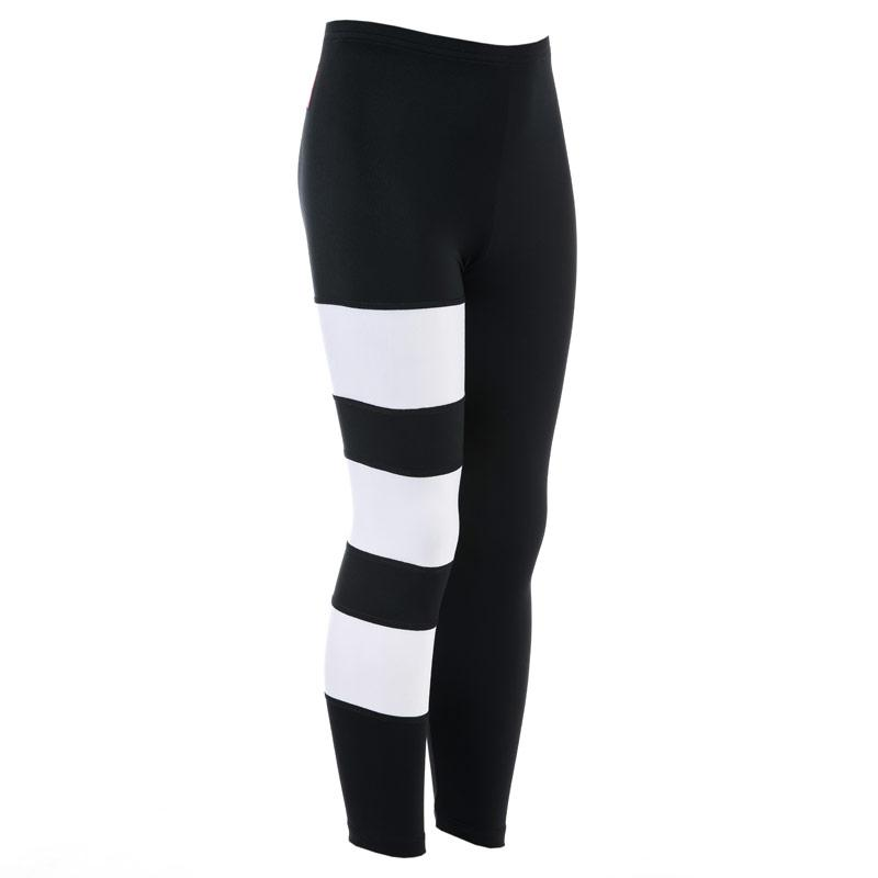 Adidas Originals Junior Girls EQT Leggings Black-White