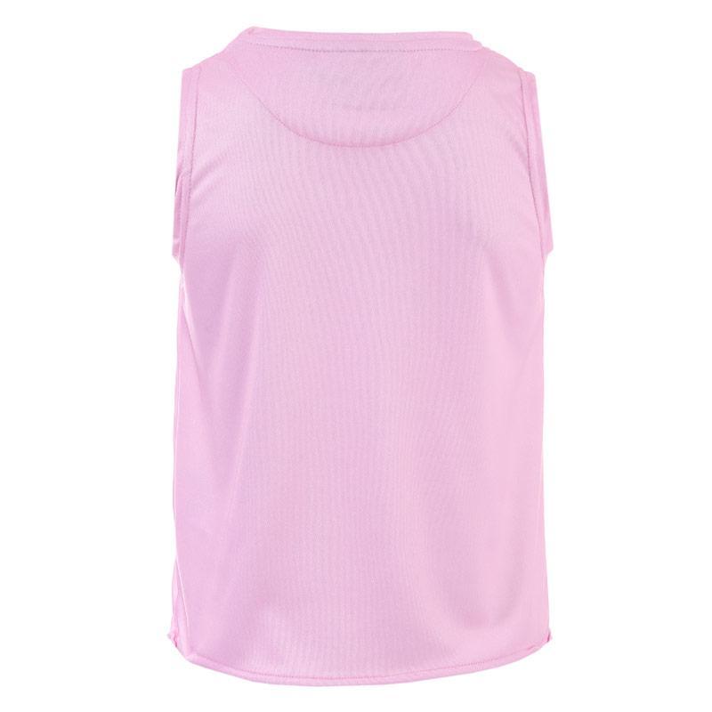 Beck And Hersey Junior Girls Knot Vest Pink