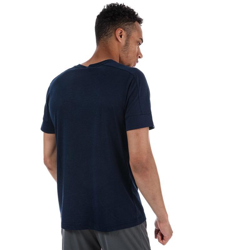 Tričko Adidas Performance Mens ID Stadium T-shirt Navy