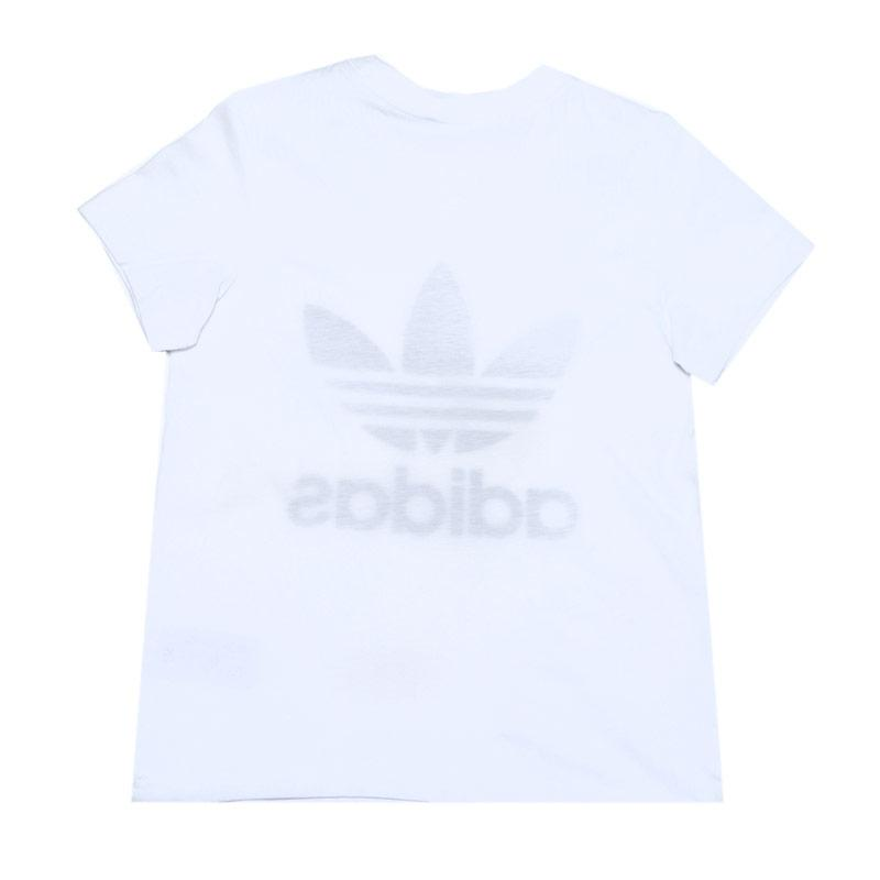 Tričko Adidas Originals Junior Boys Trefoil T-Shirt White Black