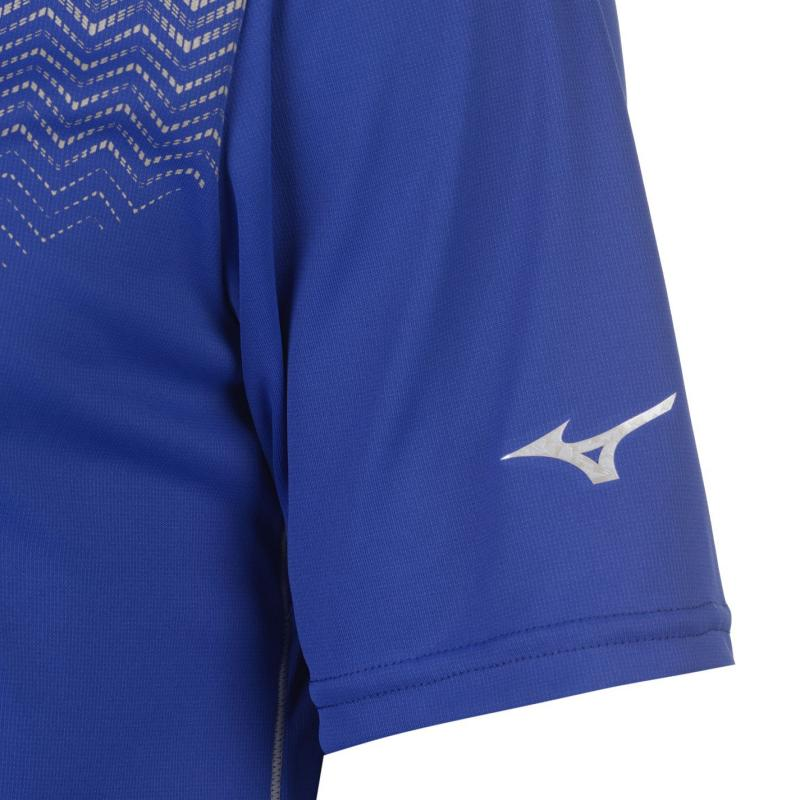 Mizuno Solar Cut Polo Shirt Mens Surf Blue