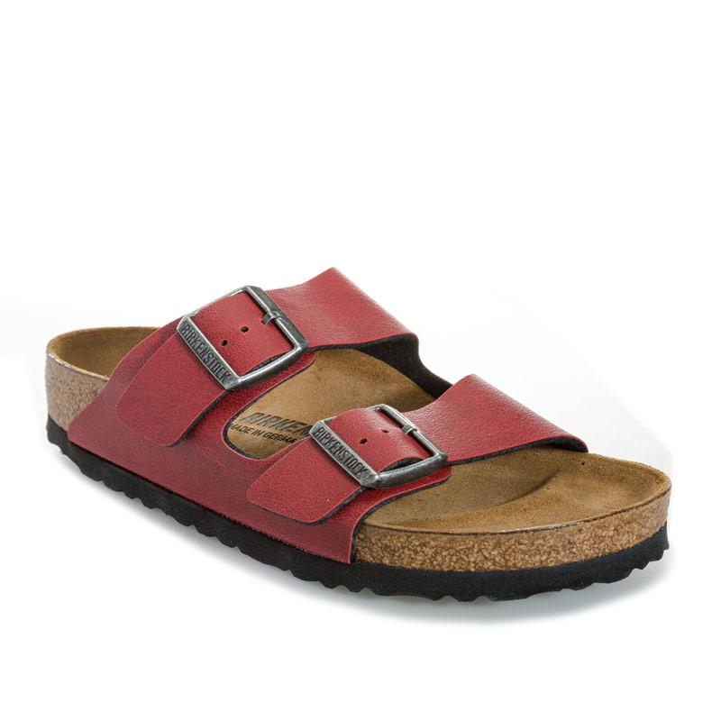Boty Birkenstock Womens Arizona Sandals Narrow Width wine