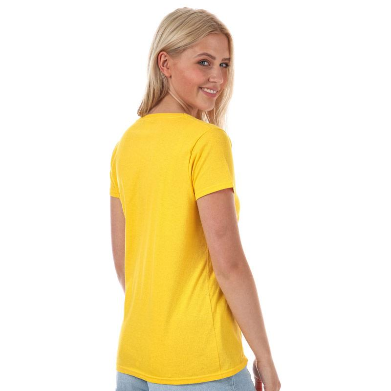 Daisy Street Womens Sunshine T-Shirt Yellow