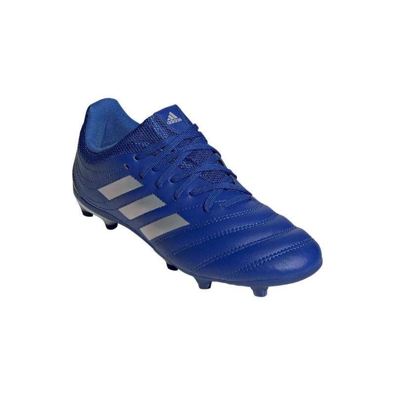 Adidas Copa 20.3 Junior FG Football Boots Blue/MetSilver
