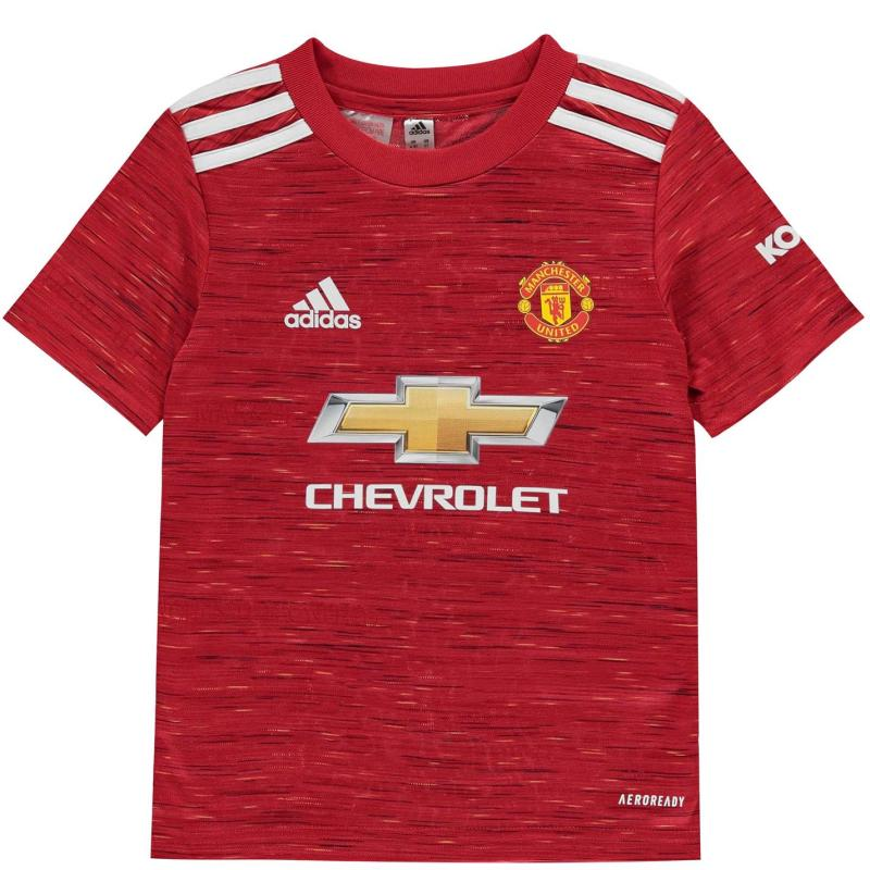 Adidas Manchester United Home Mini Kit 2020 2021 Red
