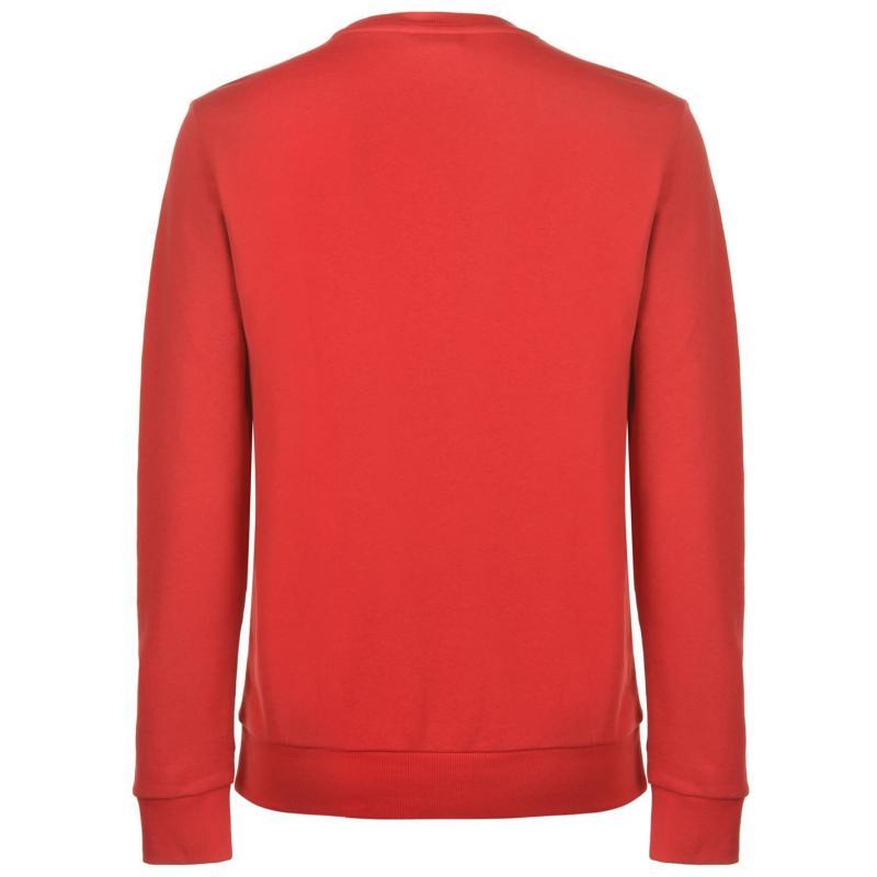 Mikina FA England 2 Stripe Sweatshirt Mens Grey