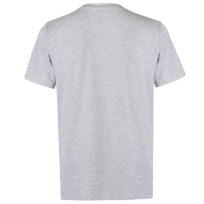 Tričko FA England 3 Lions T Shirt Mens Navy