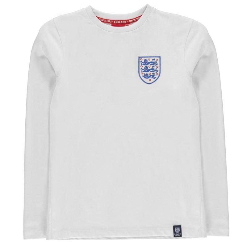 FA England Crest T Shirt Junior White