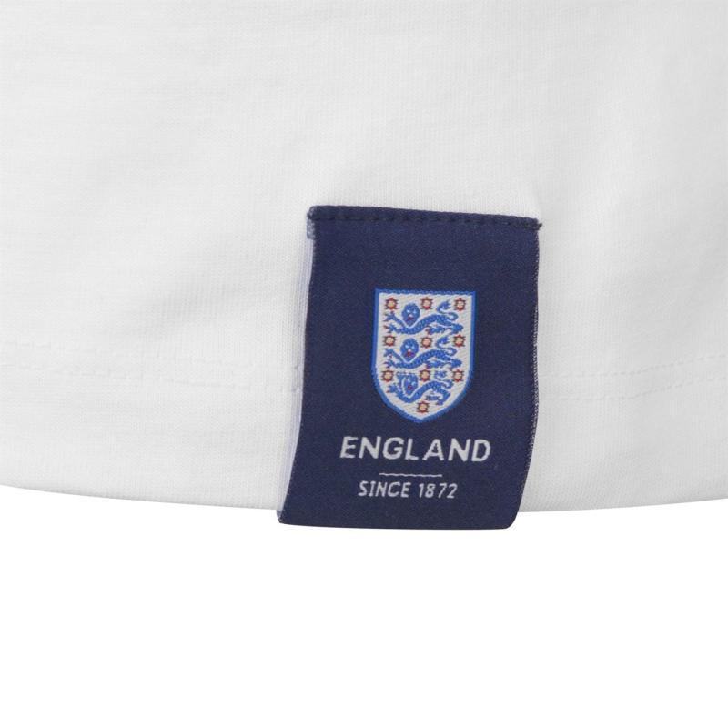 Tričko FA England Geoff Hurst 66 T Shirt Mens White