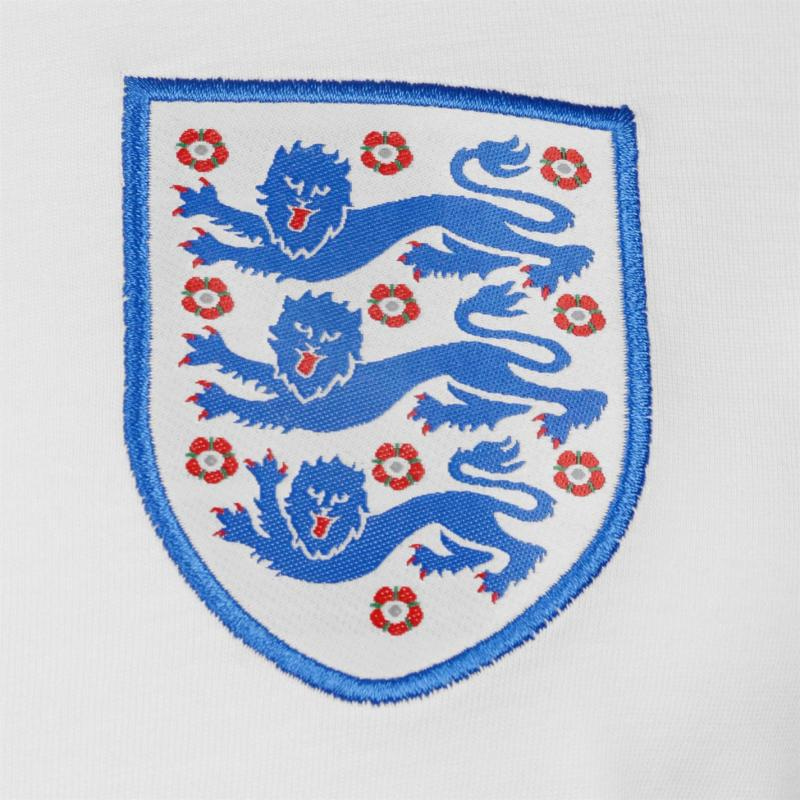FA England Small Crest T Shirt Ladies White
