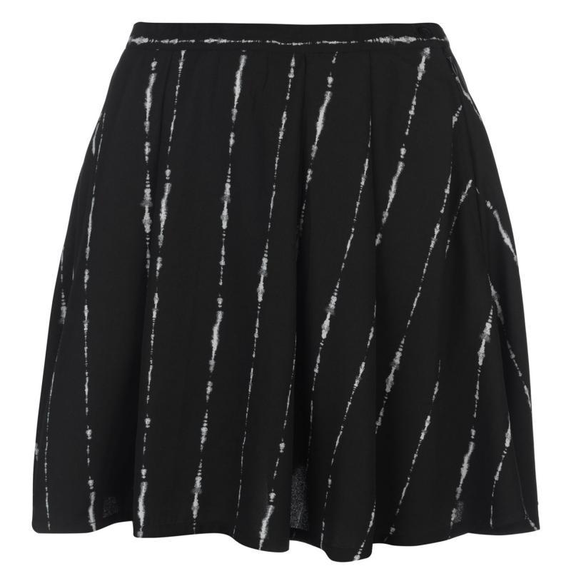 Sukně Firetrap Blackseal Stripe Skirt Black Stripe