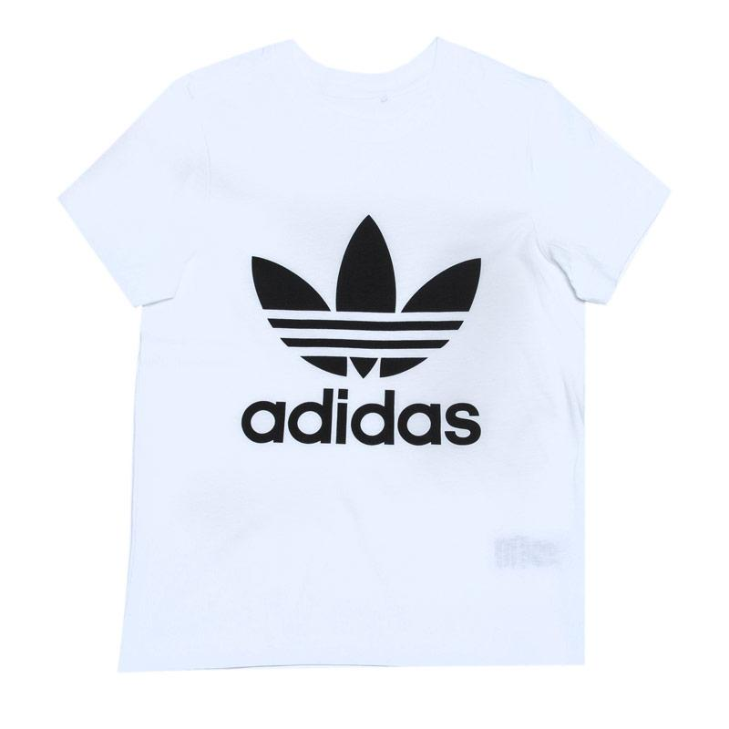Tričko Adidas Originals Infant Boys Trefoil T-Shirt White Black
