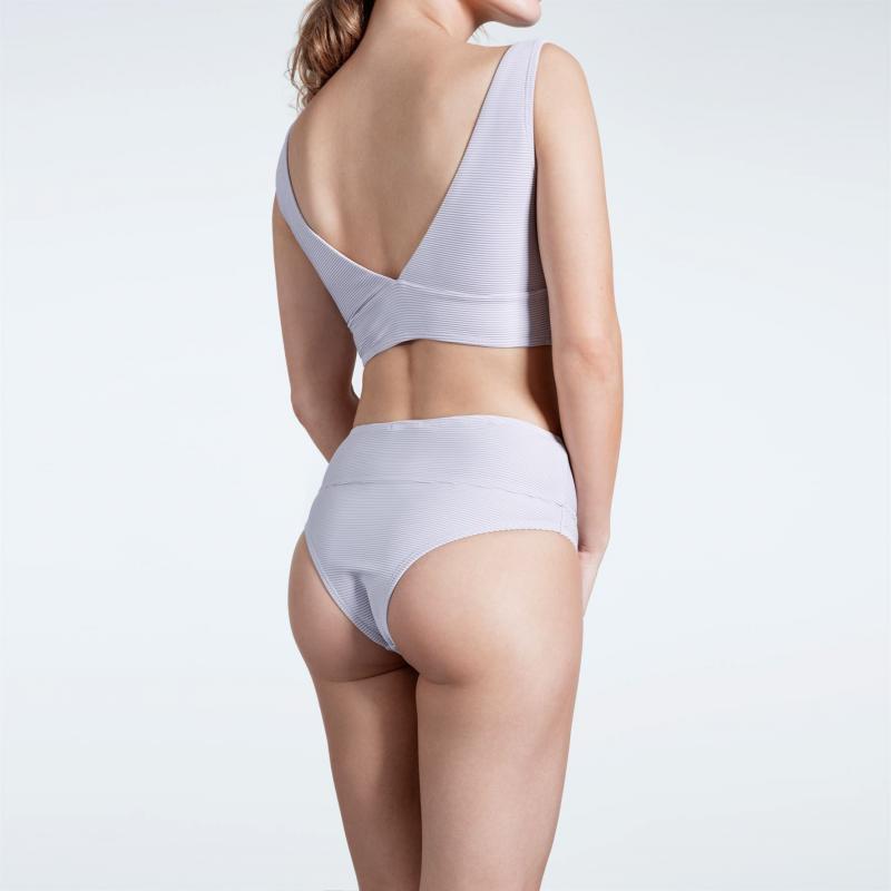 Plavky USA Pro Textured Bikini Bottoms Ladies Lilac