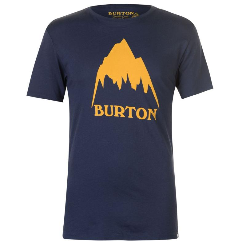 Tričko Burton Classic T Shirt Mens Navy