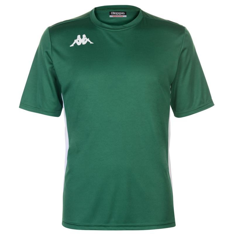 Tričko Kappa Torino Short Sleeve T Shirt Mens Red/White