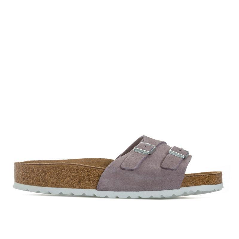 Boty Birkenstock Womens Vaduz Soft Footbed Sandals Narrow Width Lavender