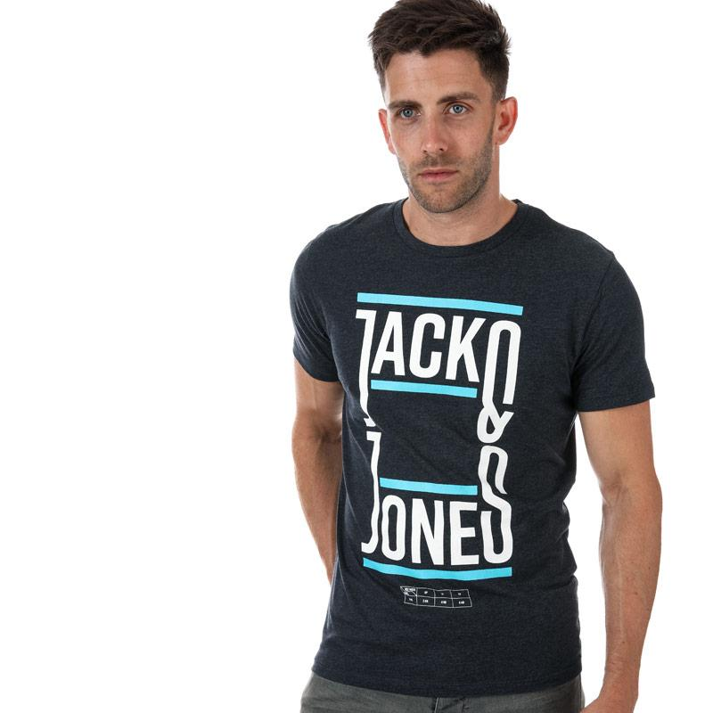Tričko Jack Jones Mens Booster T-Shirt Navy