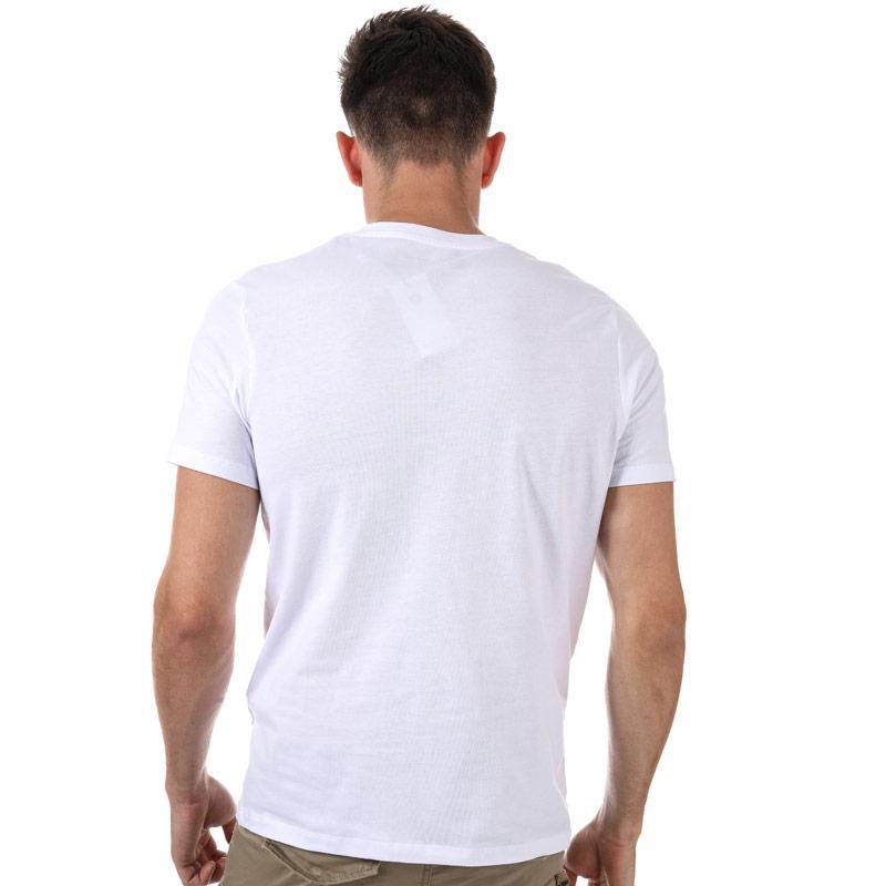 Tričko Jack Jones Mens Booster T-Shirt White