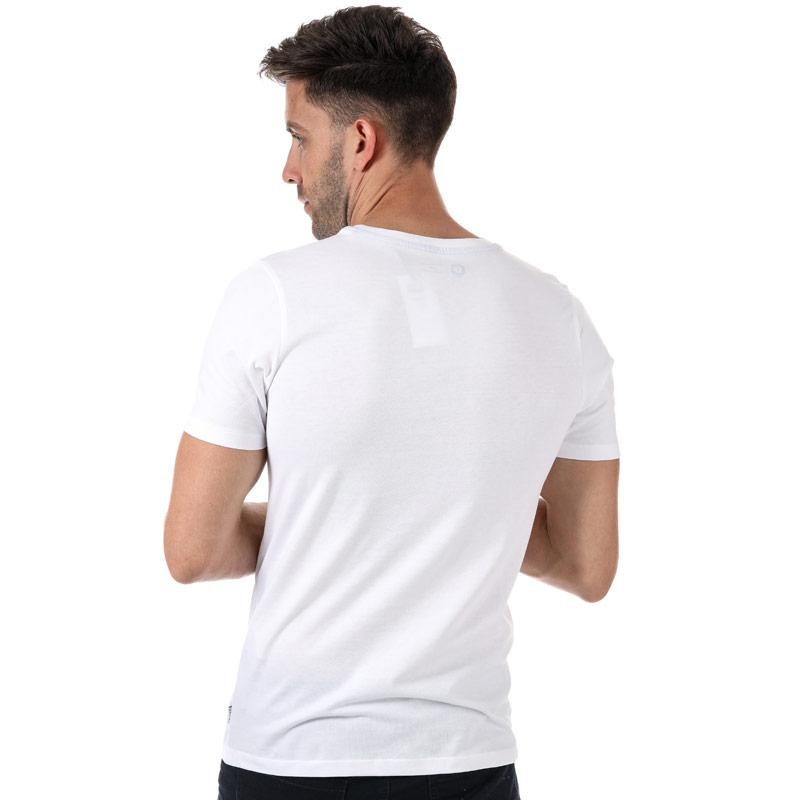 Tričko Jack Jones Mens Mase T-Shirt White